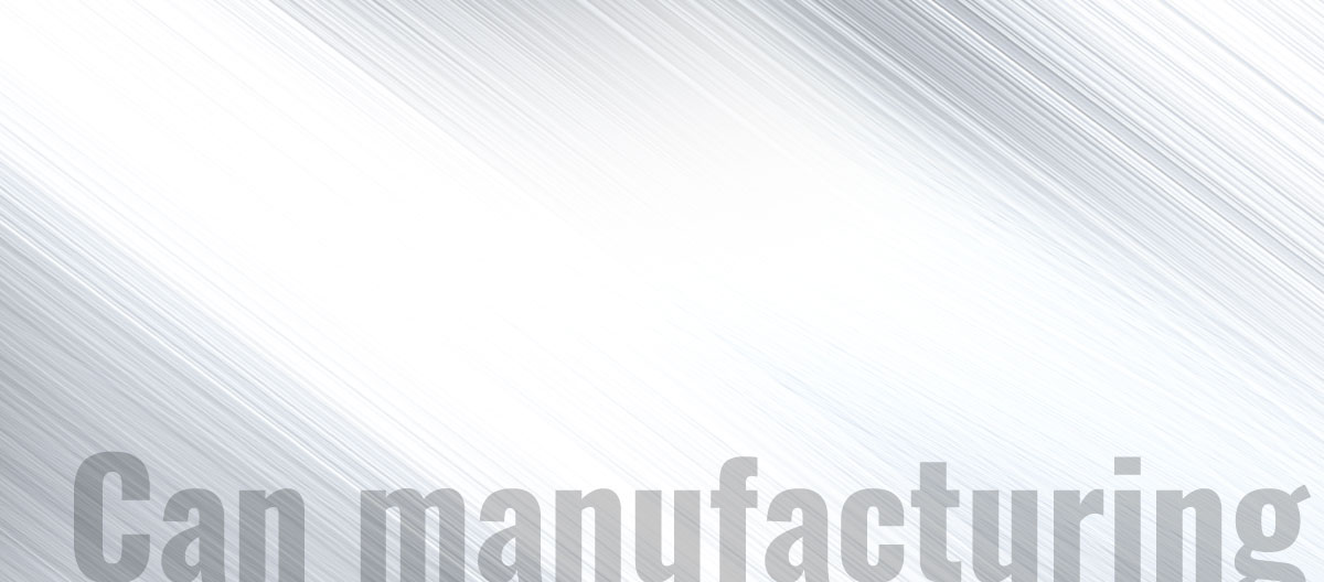 Can manufacturing